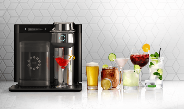 Keurig's Drinkworks Home Bar