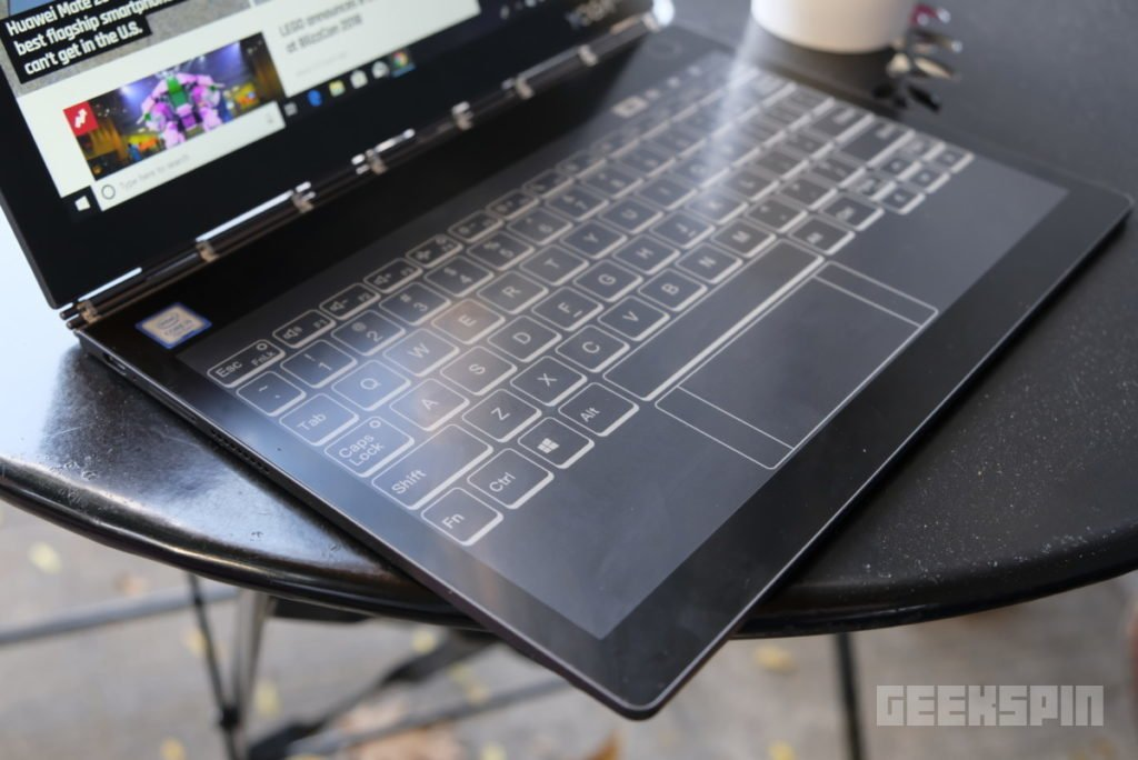 Lenovo Yoga Book C930 review: The quirkiest and most futuristic 2-in-1 yet 14