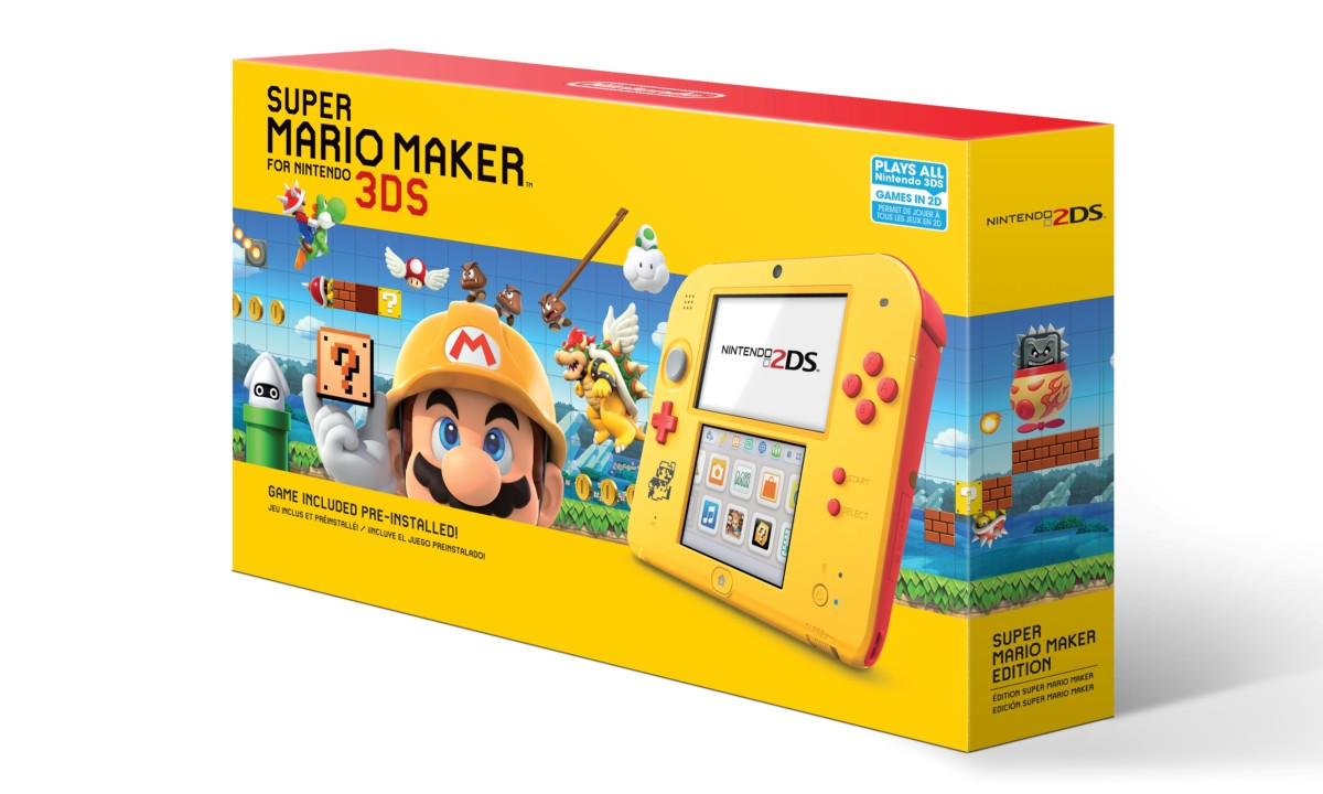 Nintendo 2DS Super Mario Maker Black Friday bundle