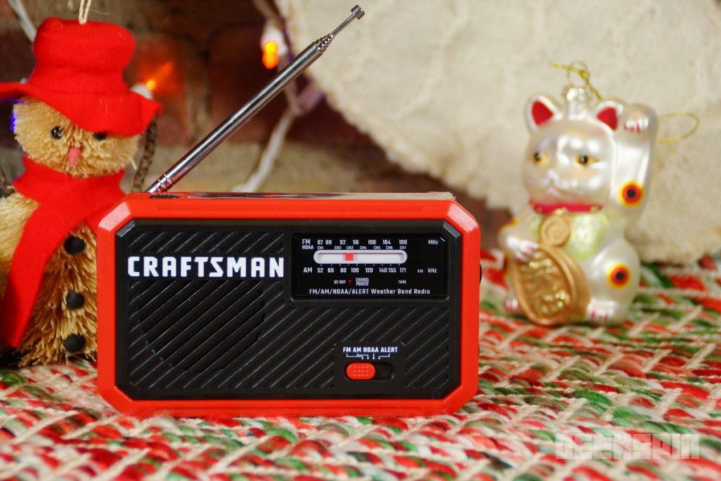 Craftsman Rechargeable Radio 16