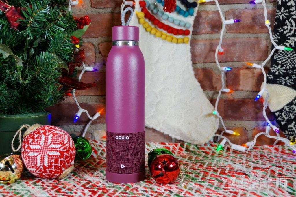 iHome Aquio water bottle and Bluetooth speaker 14