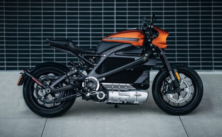 Harley-Davidson debuts their first electric motorcycle 20