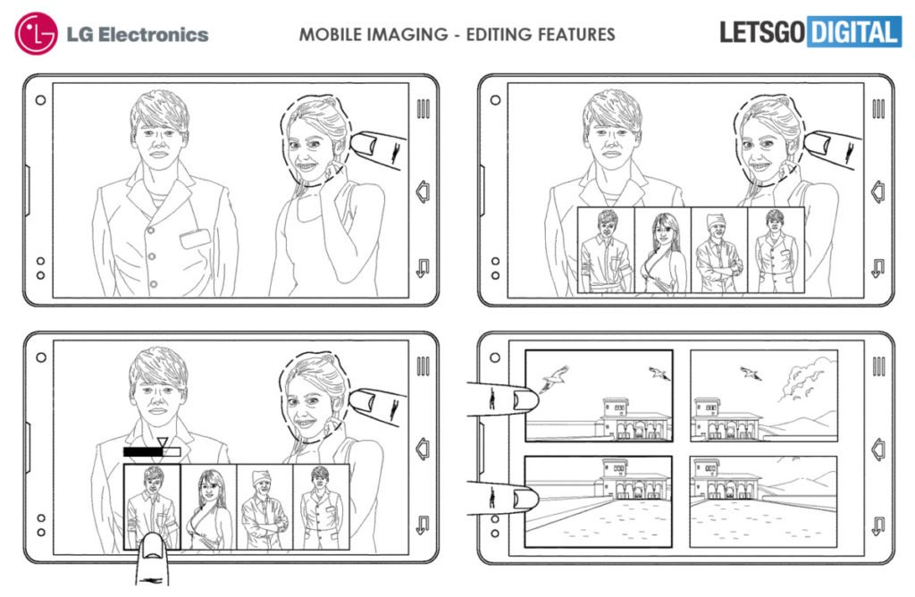 LG's files patent for phone with 16 cameras 11