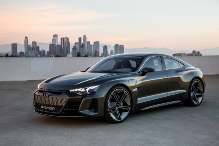 Audi's stunning E-Tron GT electric sedan arrives in 2021 14