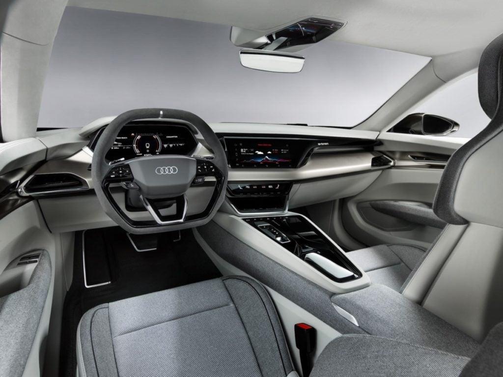 Audi's stunning E-Tron GT electric sedan arrives in 2021 15