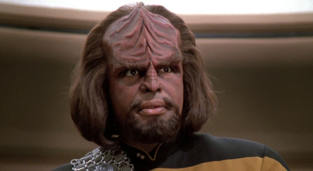Michael Dorn as Worf