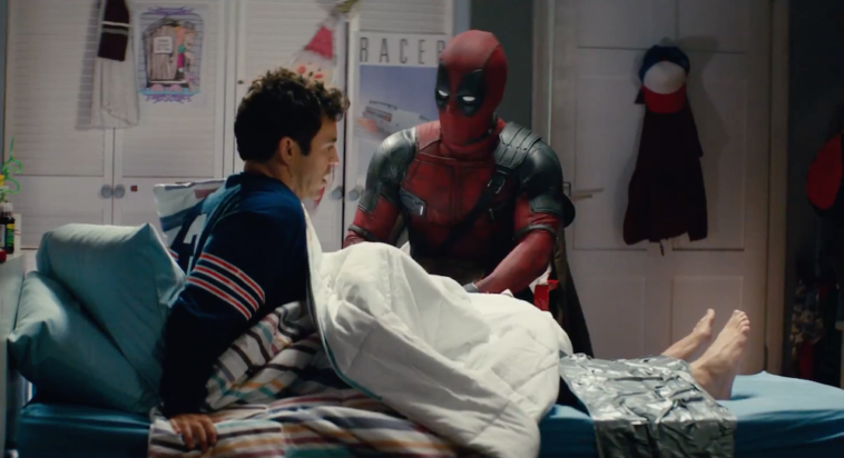 Fred Savage and Ryan Reynolds in Once Upon a Deadpool trailer