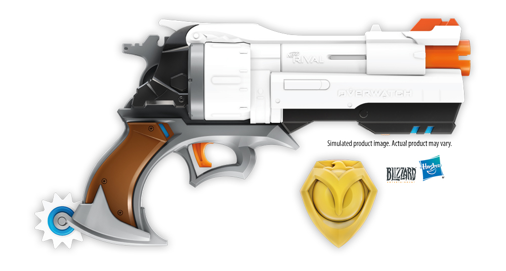 Nerf's Overwatch gun range expands with McCree's Peacekeeper 21