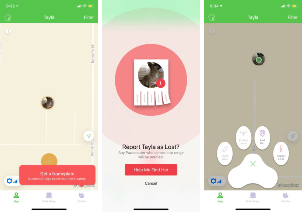 Pawscout Tracker app