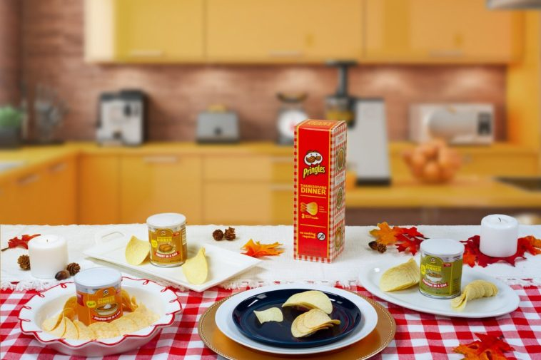 Pringles' Thanksgiving flavored chips includes a turkey flavor 12