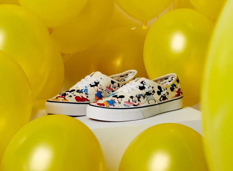 Vans celebrates Mickey's 90th birthday with all new sneaker collection 12