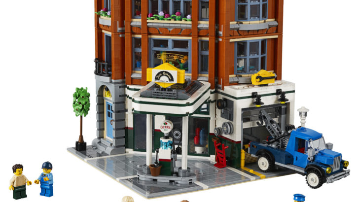 Boost your LEGO building skills with this new Corner Garage set 13