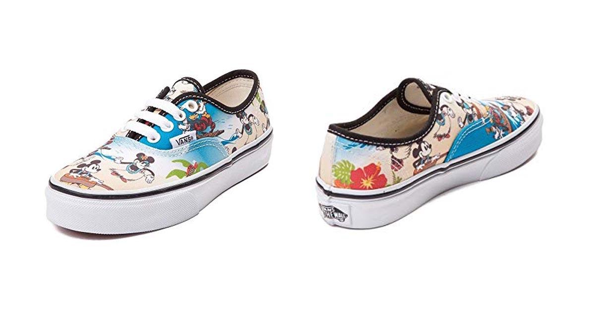 Mickey & Friends Aloha Vans Authentic