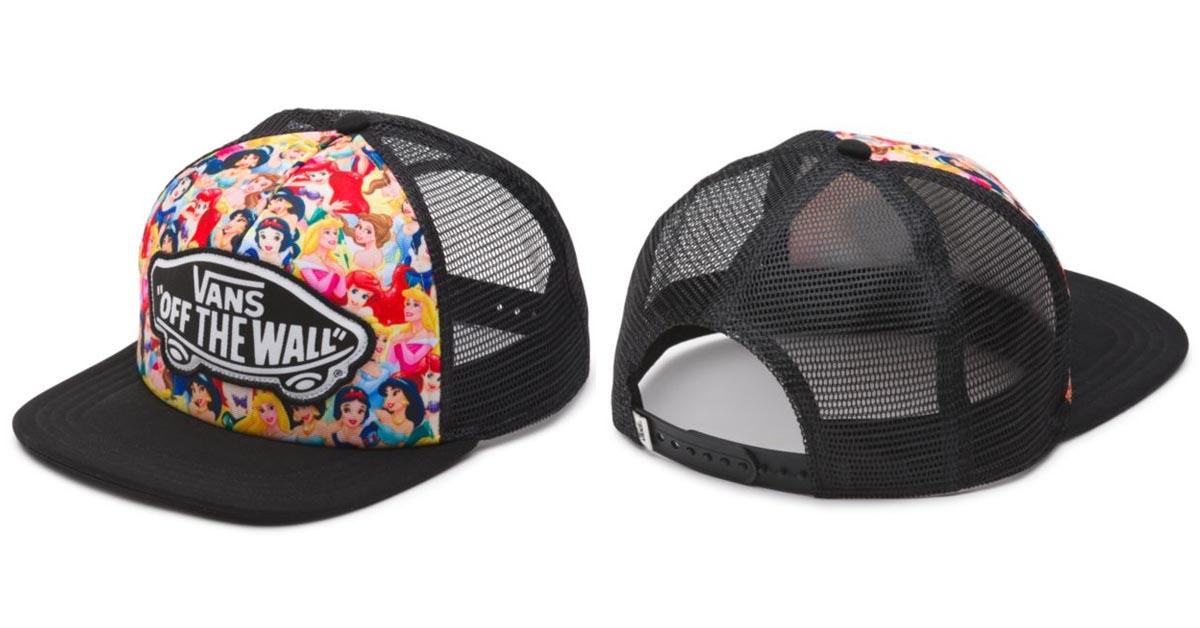 Disney Princesses Vans Trucker Hat