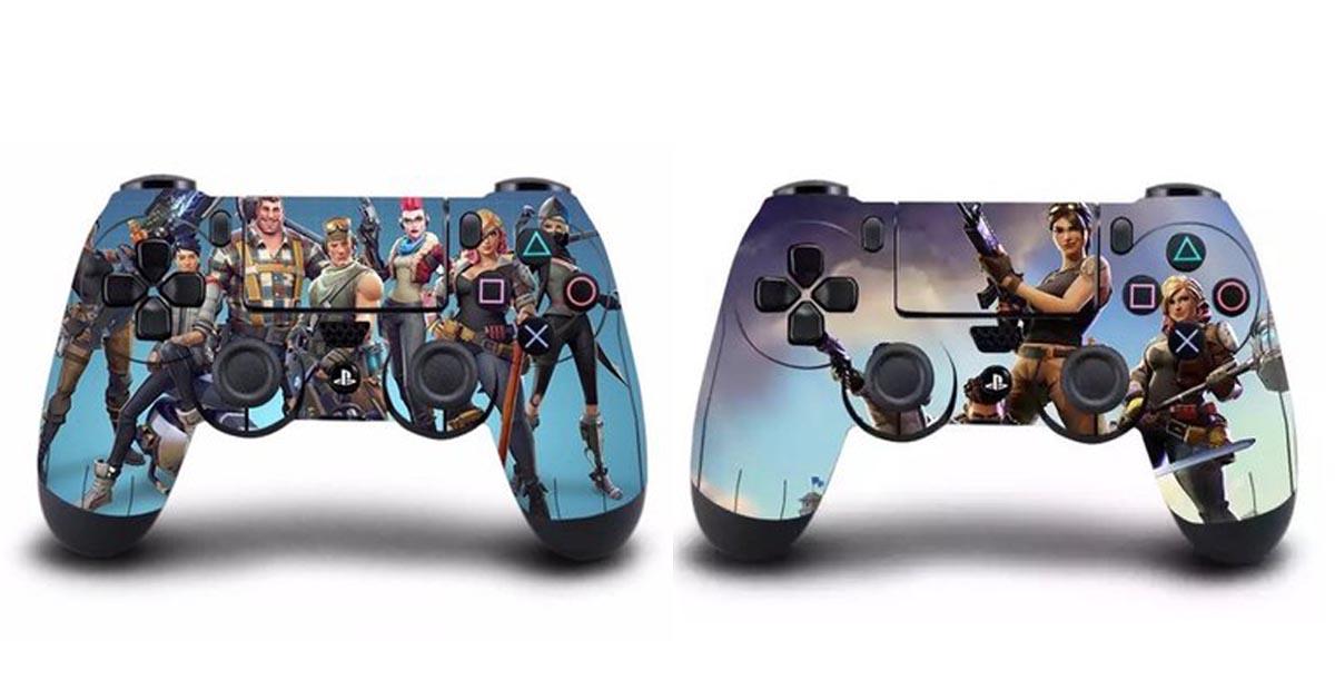Fortnite Skin Sticker for PlayStation 4 Controller