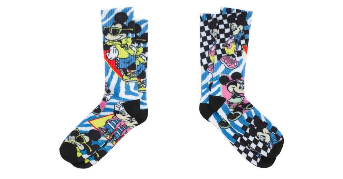 Mickey & Minnie Vans Crew Sock