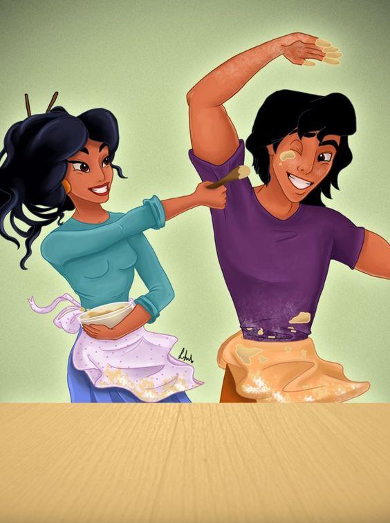 Jasmine and Aladdin – Take Six