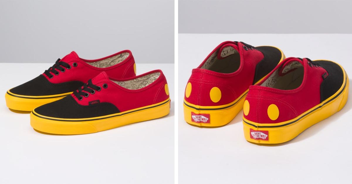Mickey Mouse Vans Authentic