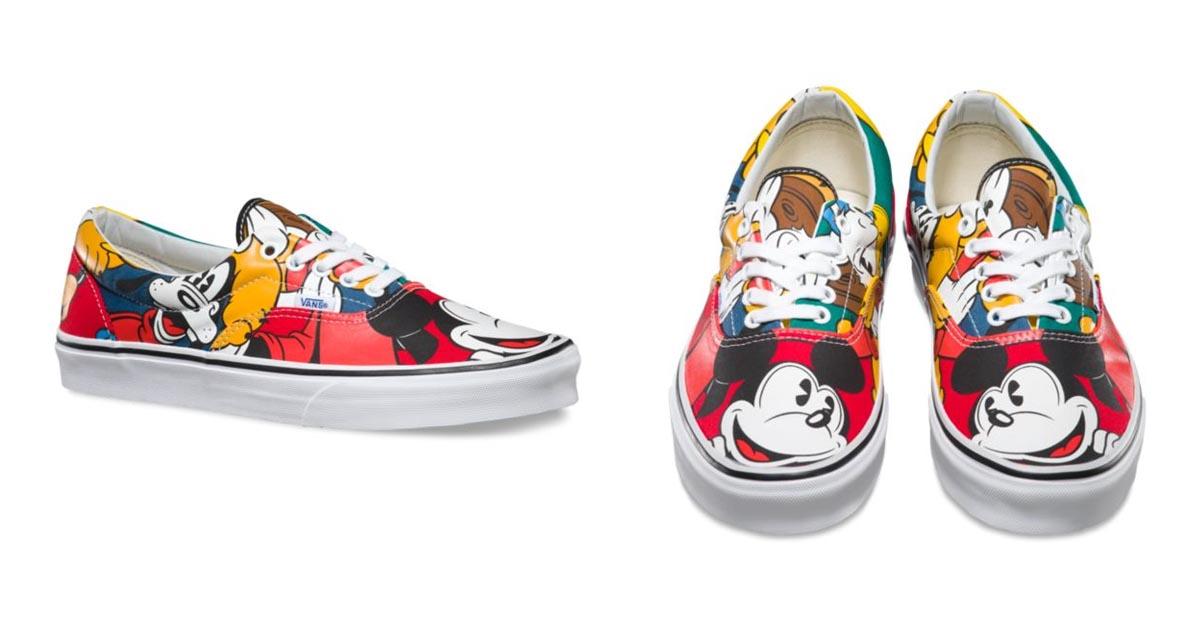 Mickey & Friends Vans Era