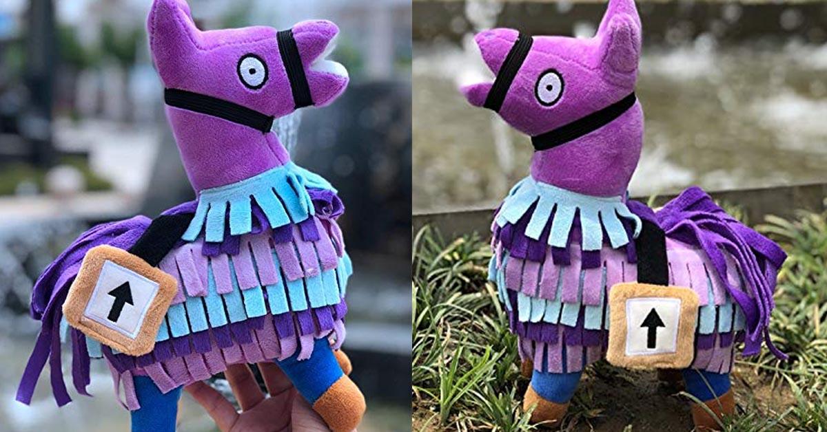 ALLYK Loot Llama Plush Toy