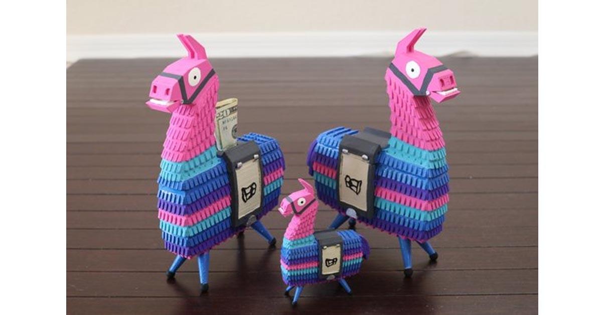 Loot Llama 3D Printed Toy Bank / Toy Figurine