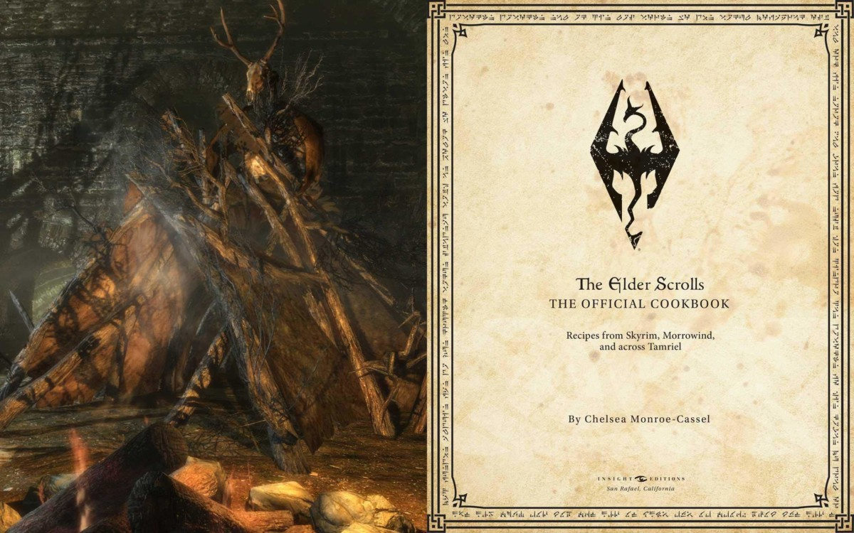 The Elder Scrolls: The Official Cookbook first page
