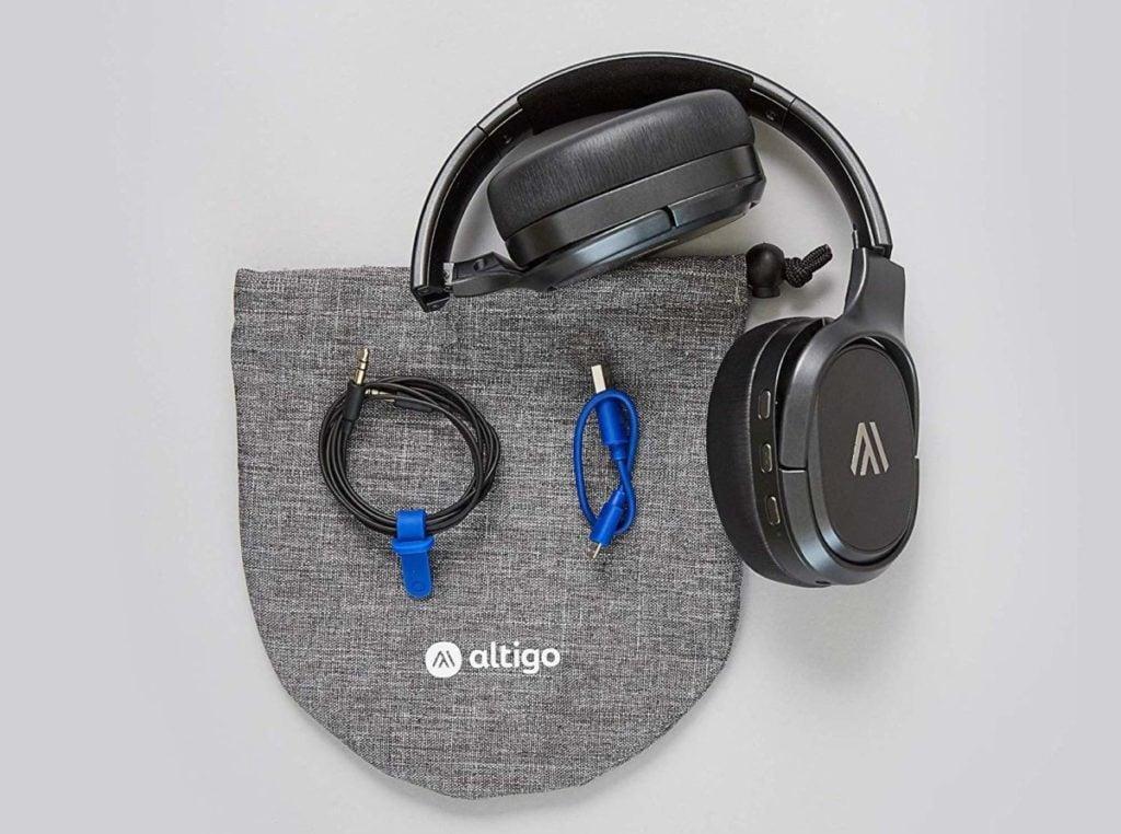 Altigo wireless bluetooth headphones review: one of the best over ear headphones under $99 12