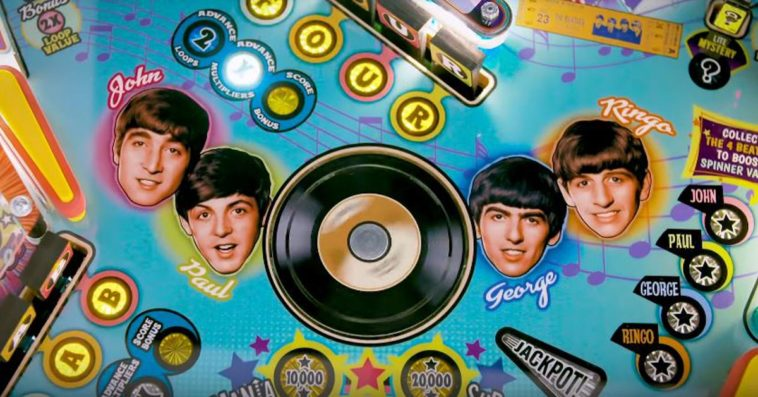 The Beatles Pinball 1