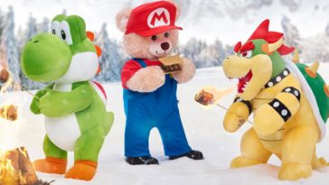 Build-A-Bear Super Mario collection