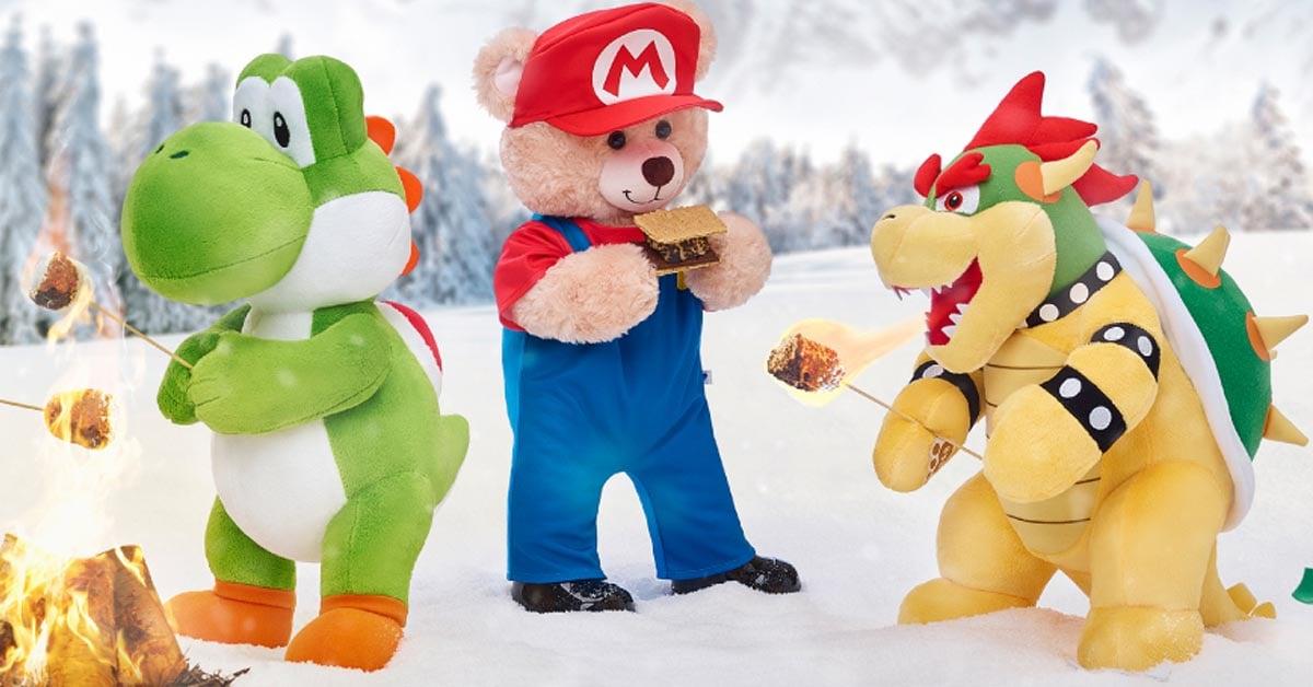 Build A Bear Workshop Re Launches Its Super Mario Merchandise