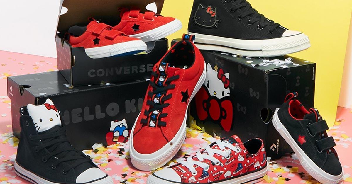 Converse x Hello Kitty 2