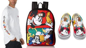 Disney x Vans collection proves that Mickey Mouse is still super hip at 90 12
