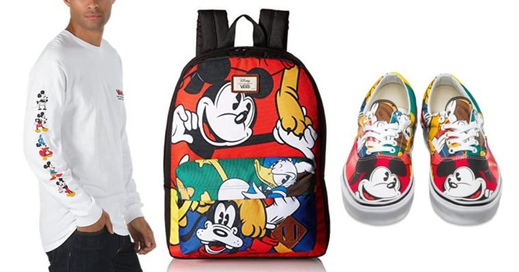 Disney x Vans collection proves that Mickey Mouse is still super hip at 90 10