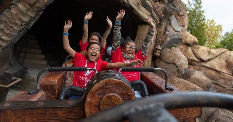 Gold Star kids enjoying at Disney World