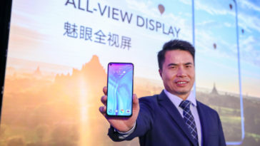 honor bnotchless 364x205 - Honor showcases its notchless, 'hole-screen' display