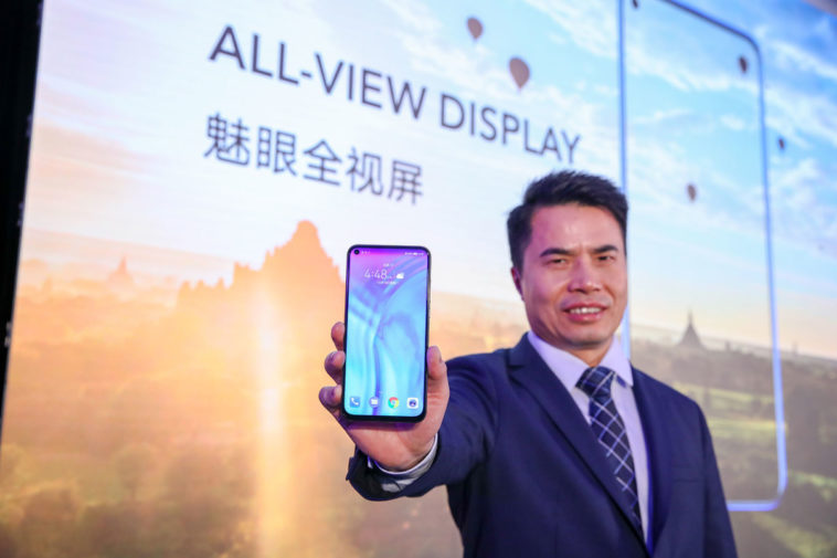 Honor showcases its notchless, 'hole-screen' display 12
