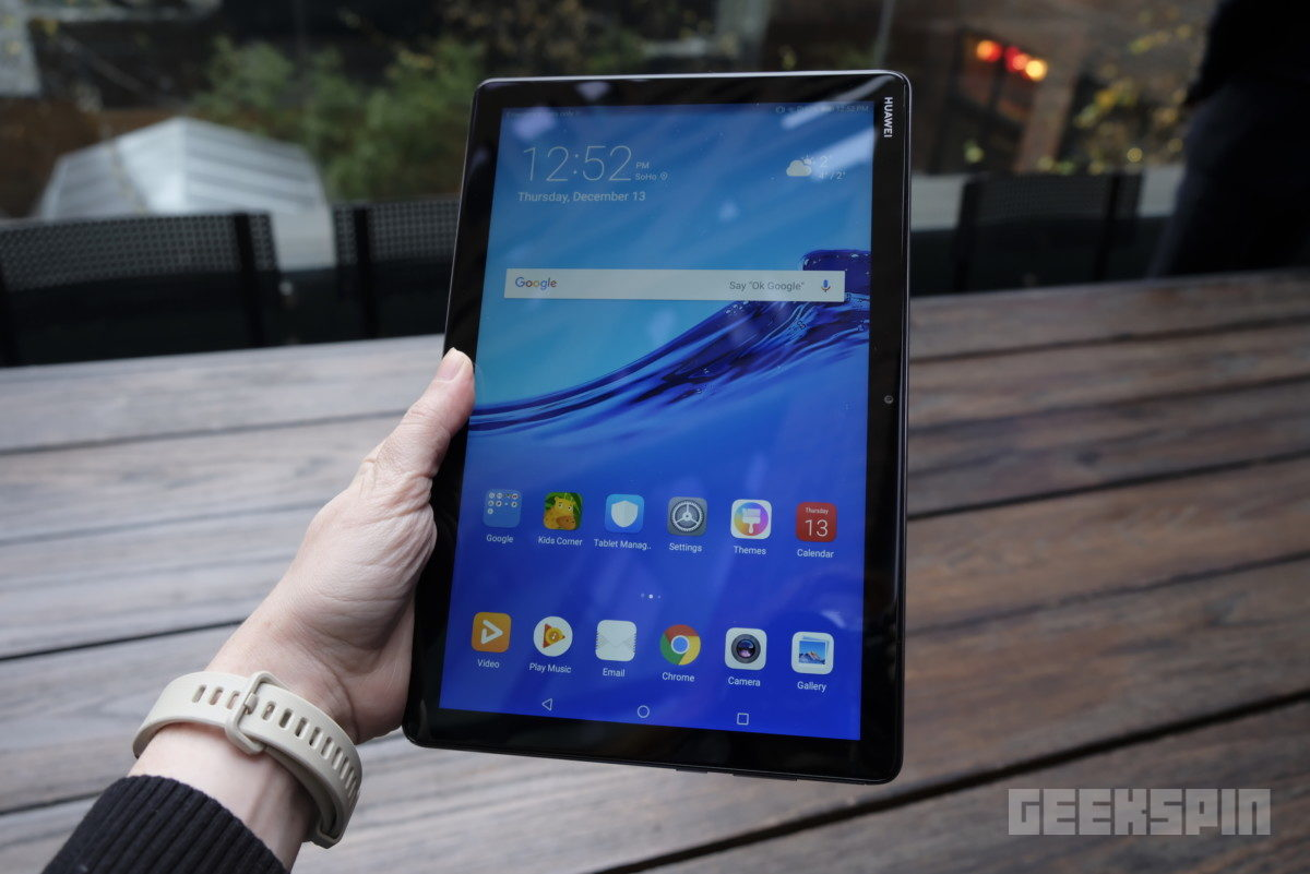huawei mediapad m5 lite 2 1024x684 - Huawei MediaPad M5 Lite is a family-friendly iPad Pro alternative