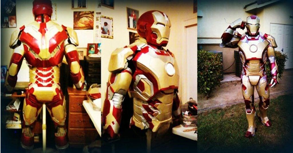Iron Man DIY suit finished product