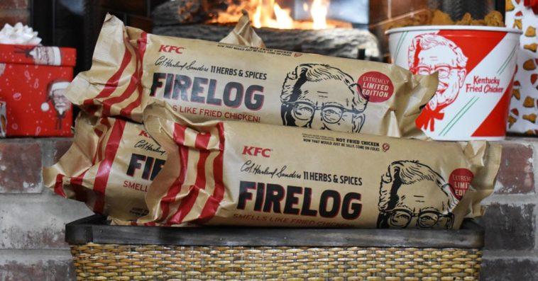 KFC 11 Herbs and Spices firelog