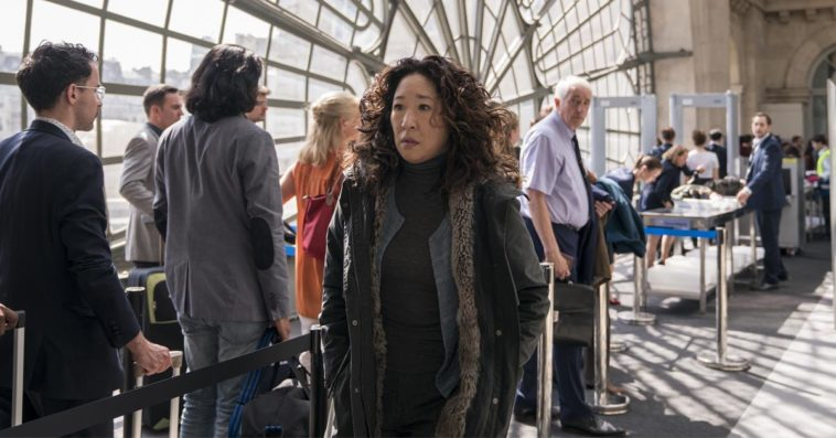 Sandra Oh as Eve in Killing Eve