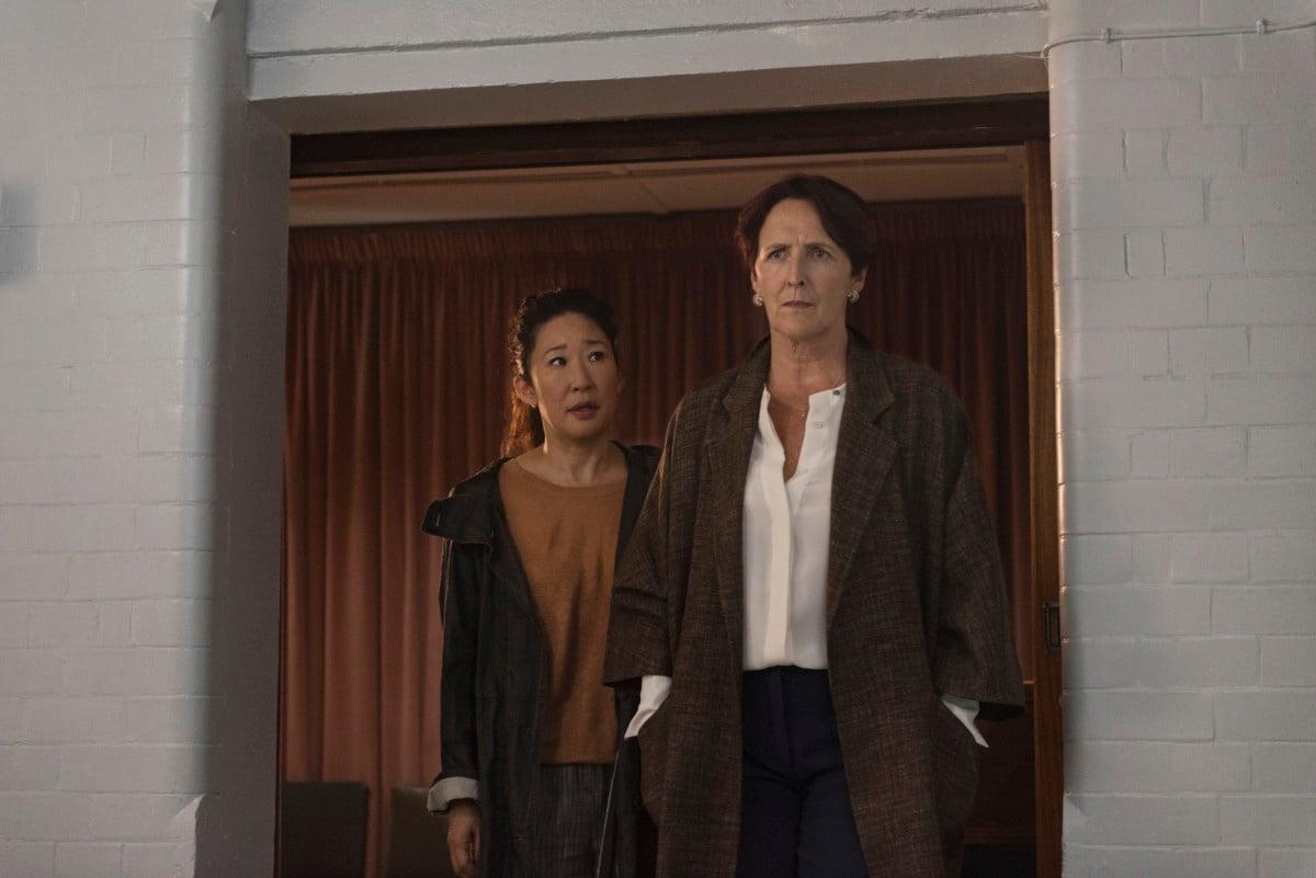 Killing Eve: Sandra Oh's Eve reunites with Fiona Shaw's Carolyn