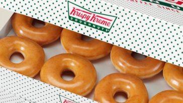 Krispy Kreme is selling a dozen doughnuts for only $1 on December 12th 18