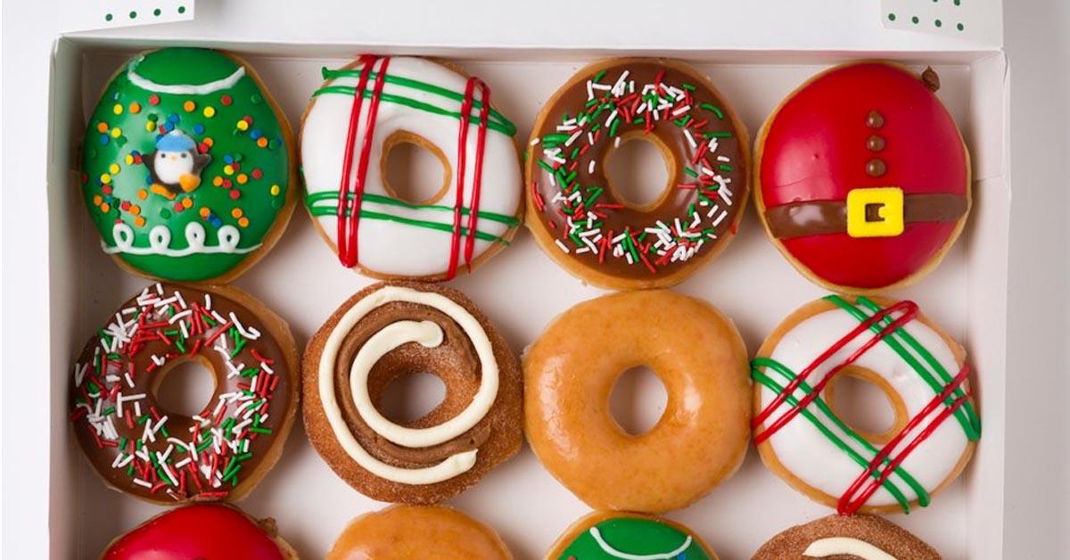 Krispy Kreme festive collection