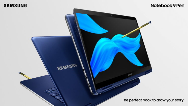 Samsung's latest 2-in-1 Notebook 9 Pen comes with an S Pen 13