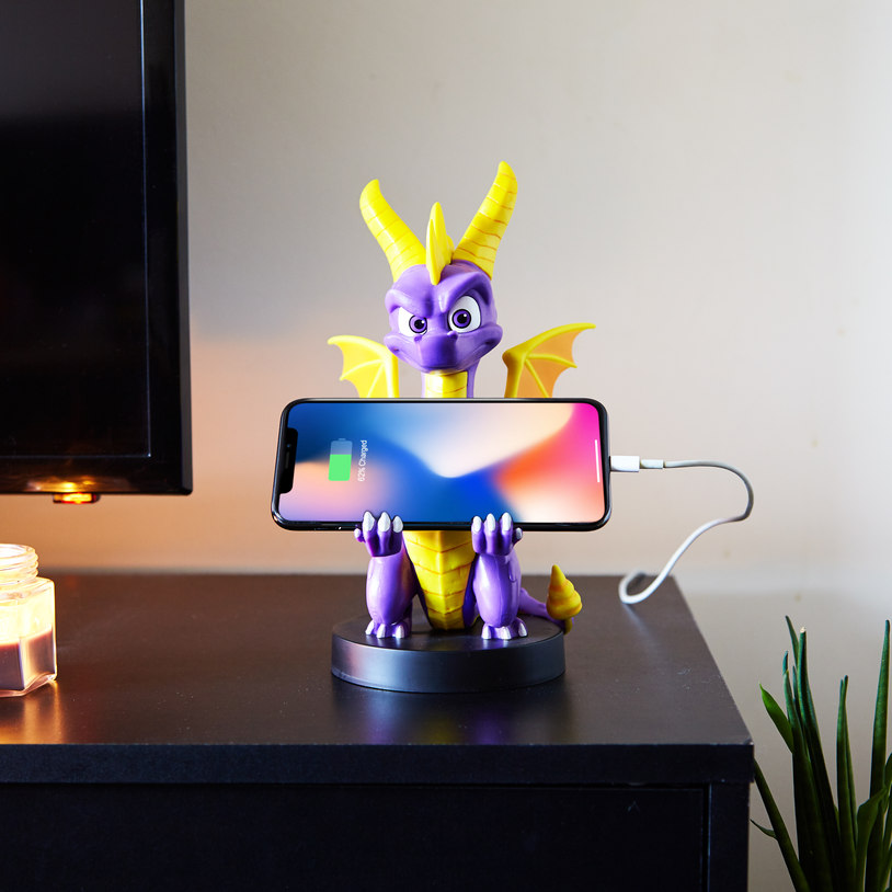 Spyro Cable Guy with PS4 controller