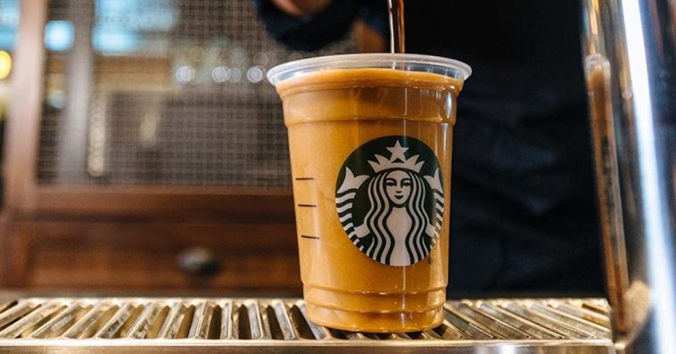 Starbucks Nitro cold brew coffee