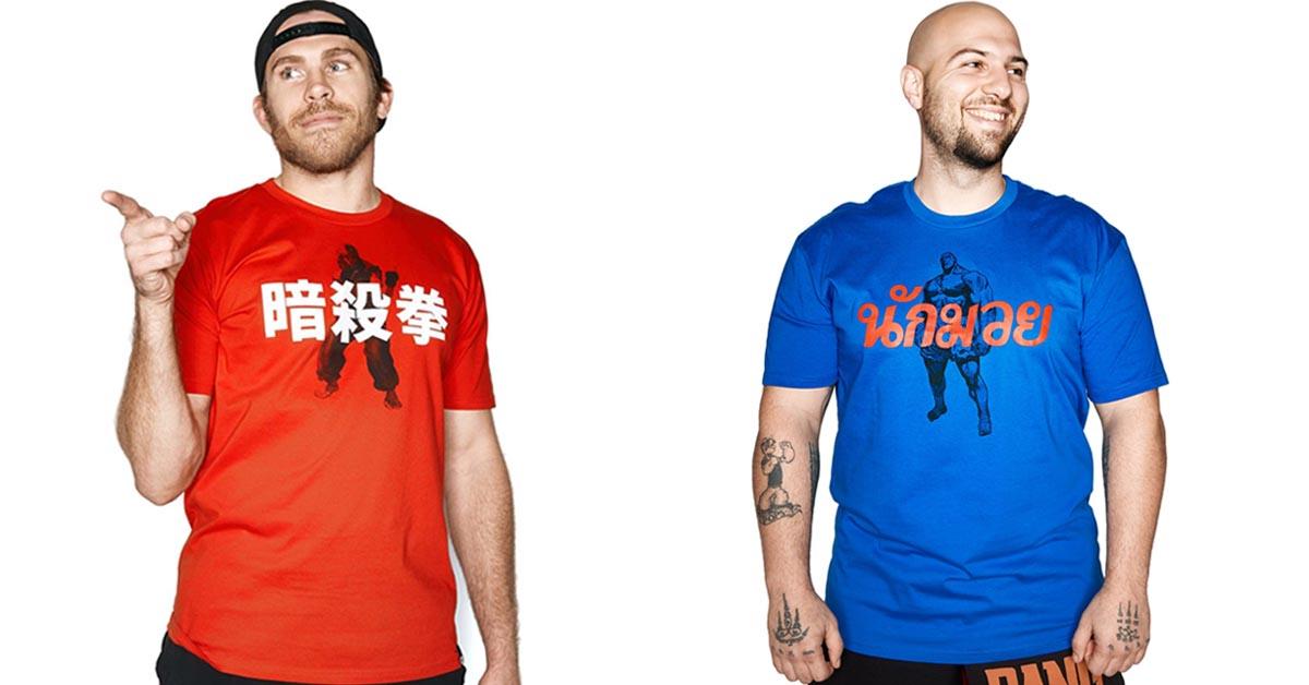 Ken T-Shirt and Sagat T-Shirt