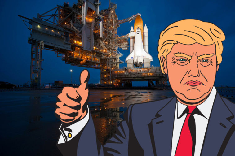 Trump lays the groundwork for a Space Force 20
