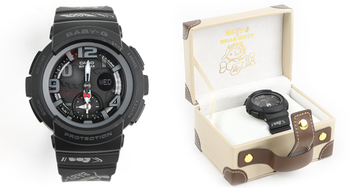 Baby-G X Hello Kitty Dual-Dial Watch