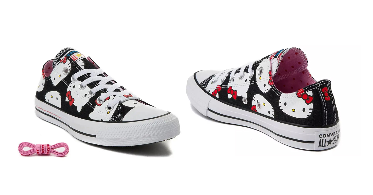 Converse Chuck Taylor All Star X Hello Kitty Lo Sneakers